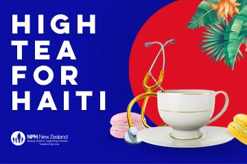 High Tea for Haiti